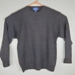 Pendleton Mens Wool Speckled Sweater Medium